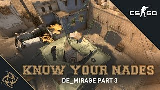 NiP - Know your Nades | Mirage - T Side | B Site