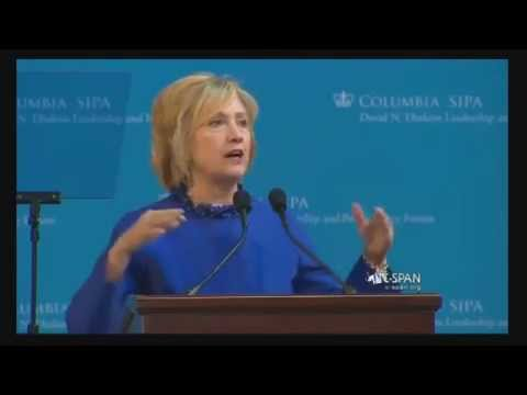 Full Speech - Hillary Clinton on Race and Police Brutality at Columbia University