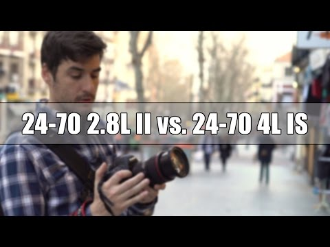 Canon 24-70 2.8L II vs. Canon 24-70 4L IS - Comparativa de objetivos | David López