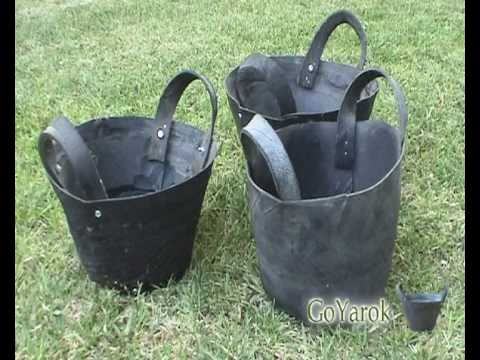recycled tire basket goyarok youtube