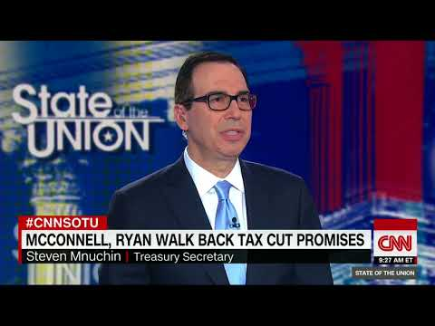 Treasury Secretary Steven Mnuchin defends Trump's tax plan (full interview)