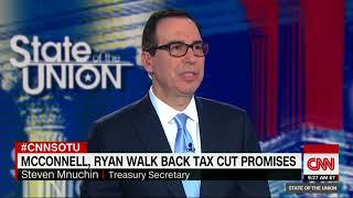 Treasury Secretary Steven Mnuchin defends Trump