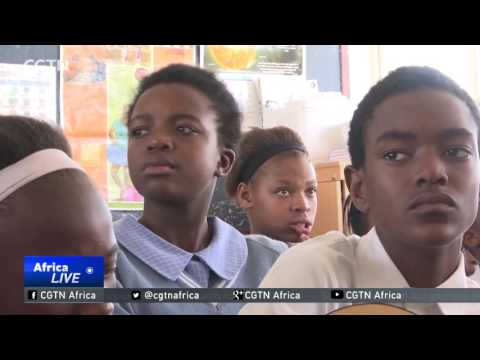 South Africa's underprivileged children learn to play music instruments
