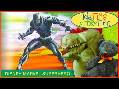 Black Panther | Superhero Kids Book Read Aloud! (World of Reading Level 1)