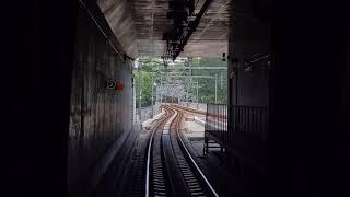 仙台市営地下鉄東西線前面展望 八木山動物公園→あおば通一番町