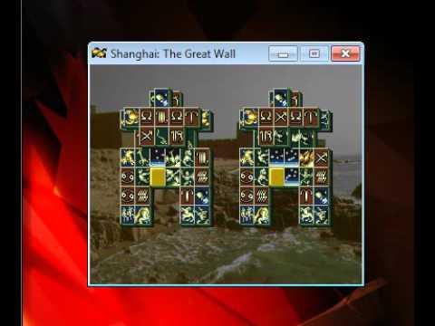 Shanghai Banri No Choujou The Great Wall - PC FX NEC - emulador Mednafen 0.9.38.7 - Windows 7 x64