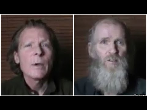 Taliban Released New Video of Two Prisoners |Taliban hostages | Kevin King And Timothy Weeks |
