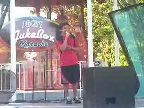 Joe Pantalone sings Karaoke