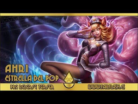 Pre Release Teaser - Popstar Ahri - League of Legends - FailFlash.es