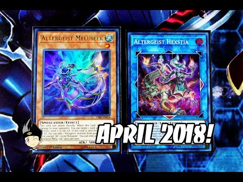 Yu-Gi-Oh! Altergeist Deck Profile! POST EXTREME FORCE! APRIL 2018!
