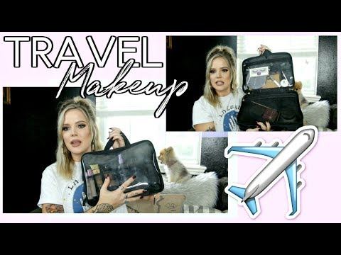MAKEUP I TRAVEL WITH | VACATION PREP PART 2 // Mallory1712