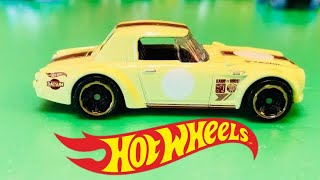 unpacking hot wheels single pack Legends of Speed Fairlady 2000 (01351)