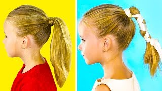 15 PRETTY 1-MINUTE HAIRSTYLES FOR LITTLE GIRLS