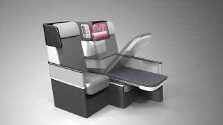 New Aeroplane Seat Will Allow Passengers To Fully Recline At 30,000ft