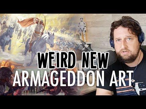 Weird New Armageddon Art (Discussing The October 2019 Watchtower)
