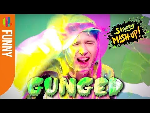 DanTDM GUNGED live on Saturday Mash-Up!