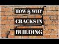 How and Why Cracks in building | How to repair a crack in plaster | Easy Nirman