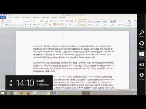 Windows 8.1 How To Copy Paste Web Text Into Microsoft Word