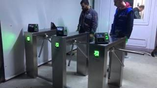 SUPER PASS SP250 TRİPOD TURNİKE SİSTEMİ | TEKSTİL TURNİKE SİSTEMİ | YÜZ TANIMA PDKS Video