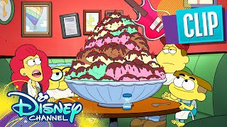 Eating the Biggest Sundae Ever🍦 | Big City Greens | Disney Channel