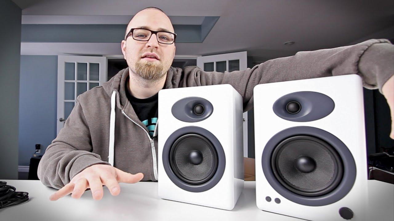 GOT NEW SPEAKERS! (Audioengine A5+ Unboxing)
