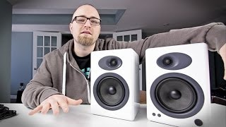 GOT NEW SPEAKERS Audioengine A5 Unboxing
