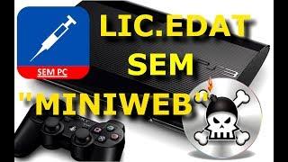 PS3 OFW 4.82: Games Backup Injectar LIC.EDAT Sem Pc e Miniweb