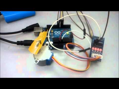 Arduino and step motor controller uln2003 funnycat tv for Uln2003 stepper motor driver board tutorial