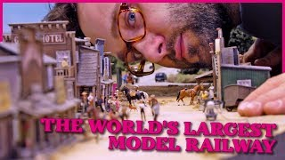 Miniatur Wunderland OFFICIAL VIDEO - world's largest model railway | railroad