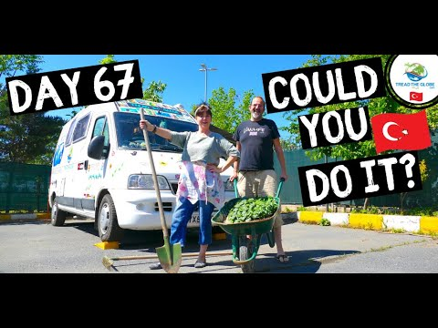 Surviving in a CAR PARK 🇹🇷 TURKEY VAN LIFE During a Pandemic
