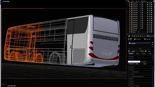 How to Make Bus Model with Blender pt1