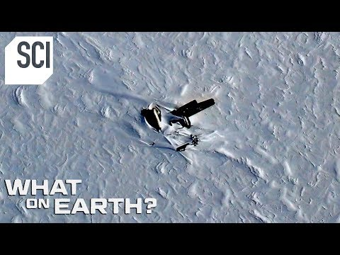 What's the Story Behind this Broken Down Aircraft in Greenland? | What on Earth?