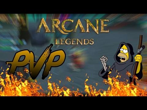 ARCANE LEGENDS: PVP LVL (61), WARRIOR TANK SUPPORT | IN [HD] 1k