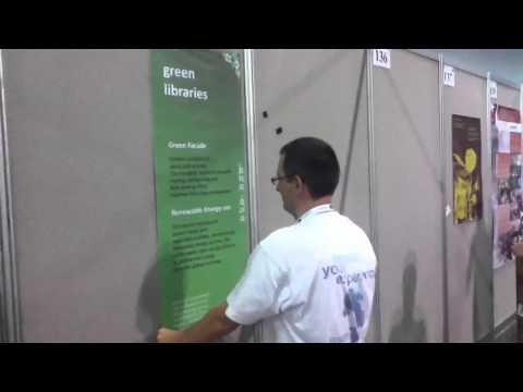 WLIC2011 beyond green libraries poster
