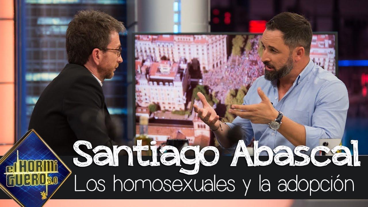 Santiago Abascal Sobre Adopción Gay Se Prefiere Que Un Niño Tenga Padre Y Madre El Hormiguero