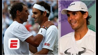 Roger Federer 'makes difficult things look easy' - Rafael Nadal | 2019 Wimbledon Press Conference