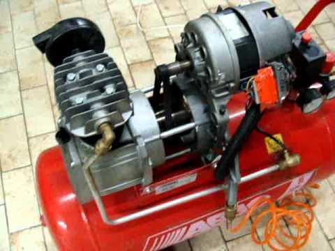 Compressore aria recupero estremo con motore di lavatrice brush