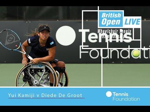 Yui Kamiji v Diede De Groot   WS FINAL    British Open Wheelchair Tennis 2017