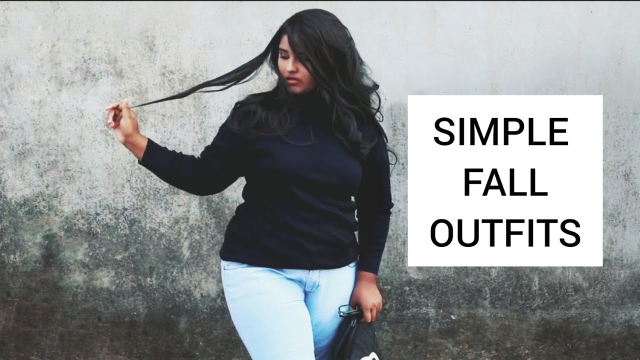 [VIDEO] - SIMPLE #FALL OUTFITS 2