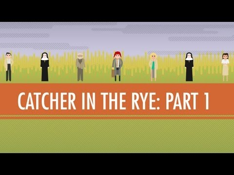 Language, Voice, And Holden Caulfield - The Catcher In The Rye Part 1: CC English Literature #6
