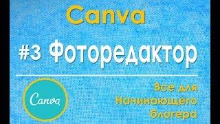 Фоторедактор онлайн бесплатно с эффектами платформы Canva