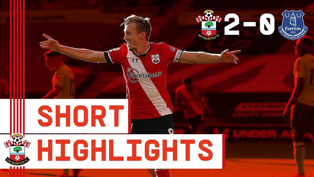 90-SECOND HIGHLIGHTS: Southampton 2-0 Everton | Premier League