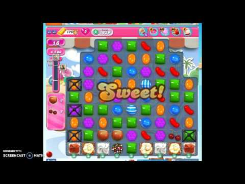 Candy Crush Level 1639 help w/audio tips, hints, tricks