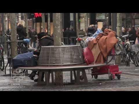 Obdachlos auf der Zeil