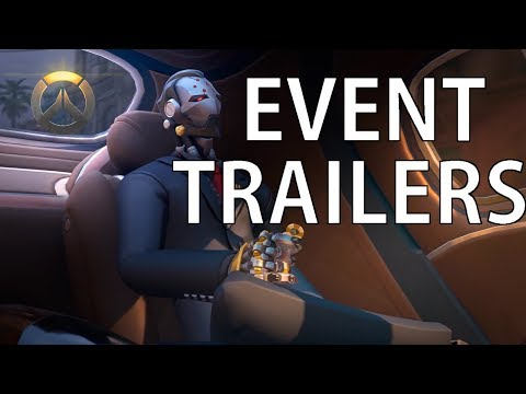 Overwatch: Event Trailers 2016 - 2019 | Oldest To Newest HD
