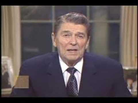 President Ronald Reagan - Address on Iran-Contra