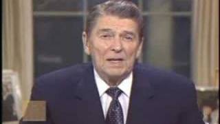 President Ronald Reagan - Address on Iran-Contra