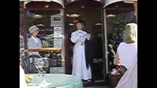 Bloomsday video clip 2, in Glasthule, Co. Dublin, 16th June 2004.