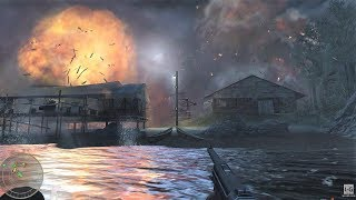 WW2 - US Marine Rescue and Makin Island Raid - Makin Atoll - Pacific War - Call of Duty World at War