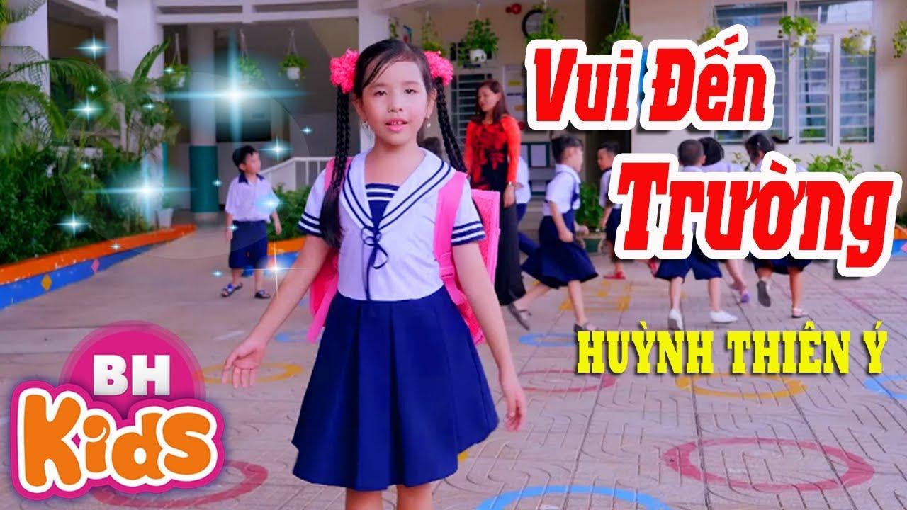 Vui Đến Trường ♫ Huỳnh Thiên Ý ♫ Nhạc Thiếu Nhi Vui Nhộn